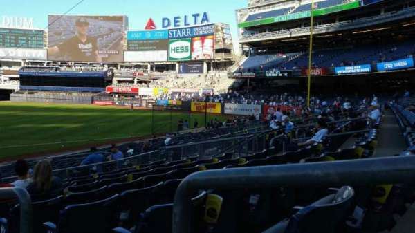 Yankee Stadium, section: 114B, row: 8, seat: 1