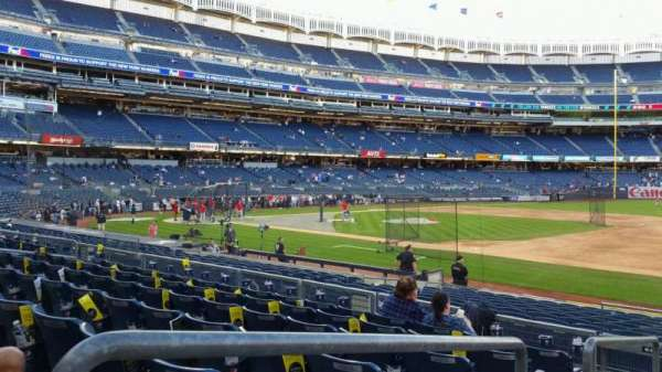 Yankee Stadium, section: 114A, row: 7, seat: 13