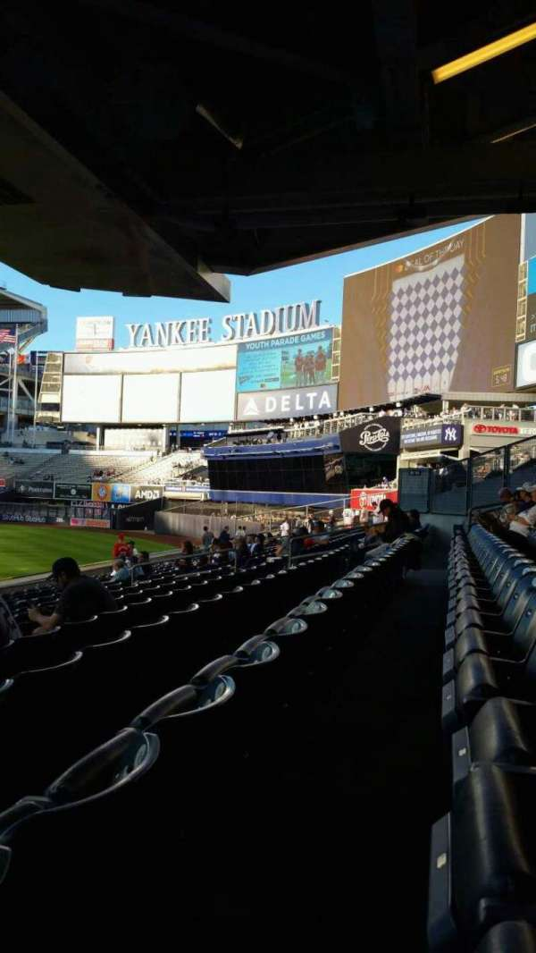 Yankee Stadium, section: 105, row: 12, seat: 24