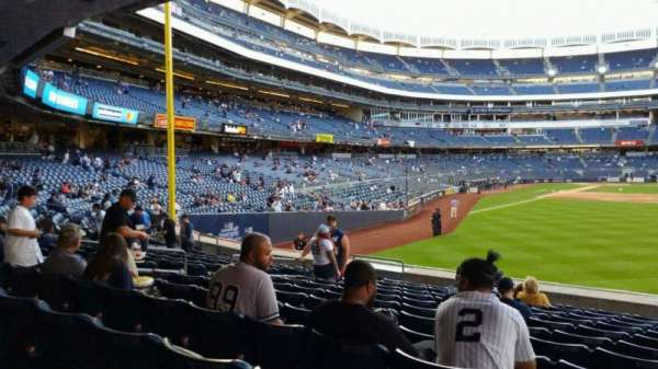 Yankee Stadium, section: 105, row: 12, seat: 13