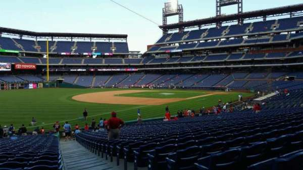 Citizens Bank Park, section: 137, row: 32, seat: 1