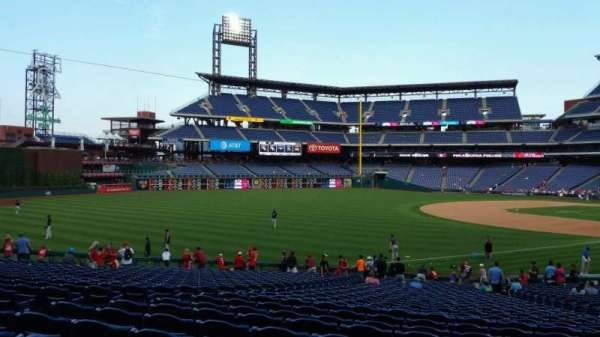 Citizens Bank Park, section: 137, row: 32, seat: 12