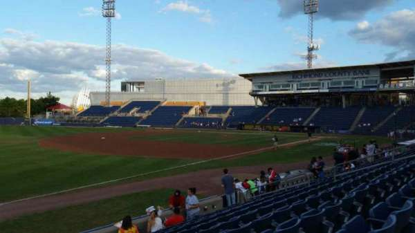 Richmond County Bank Ballpark, section: 3, row: K, seat: 22