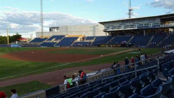 Richmond County Bank Ballpark, section: 3, row: K, seat: 11