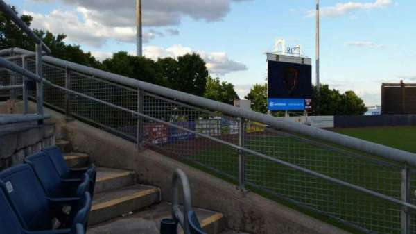 Richmond County Bank Ballpark, section: 1, row: J, seat: 18