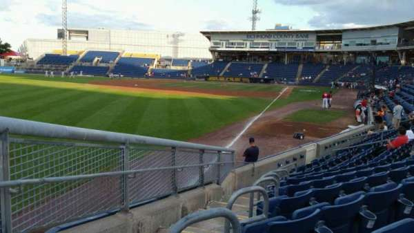 Richmond County Bank Ballpark, section: 1, row: J, seat: 24