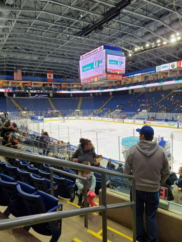Webster Bank Arena, section: 108, row: H, seat: 21
