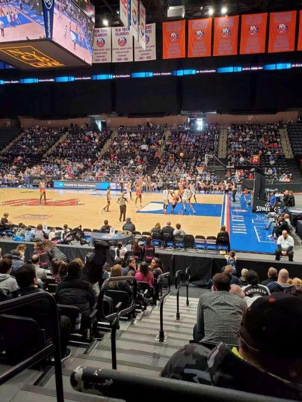 Nassau Veterans Memorial Coliseum, section: 101, row: 1, seat: 14