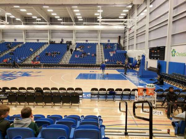 76ers Fieldhouse, section: 9, row: 6, seat: 12