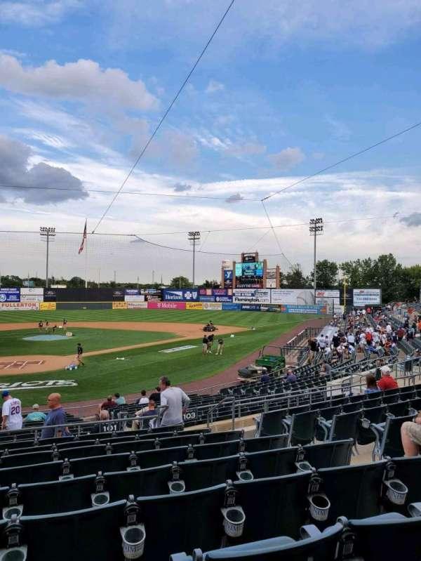 TD Bank Ballpark, section: 201, row: S, seat: 6