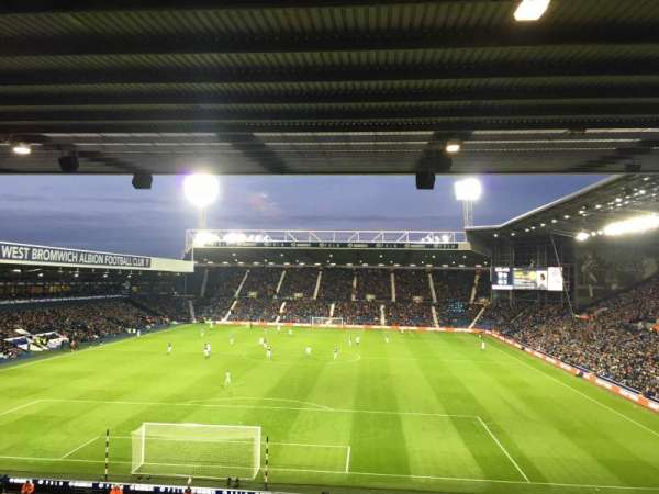 The Hawthorns, section: A3, row: SS, seat: 50