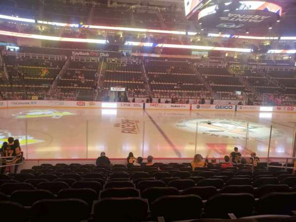 PPG Paints Arena, section: 113, row: M, seat: 9