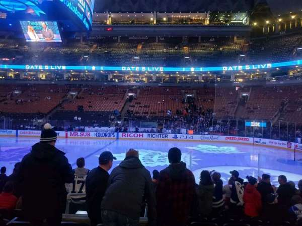 Scotiabank Arena, section: 107, row: 11, seat: 10