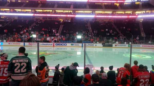 Xcel Energy Center, section: 103, row: 8, seat: 10