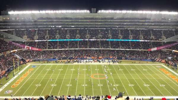 Soldier Field, section: 438, row: 33, seat: 22