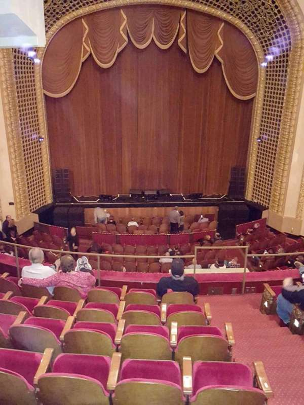 Pabst Theater, section: 2CT Balc, row: G, seat: 5