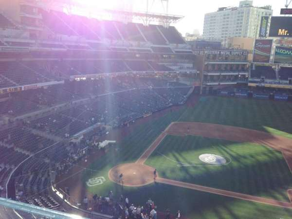 PETCO Park, section: 309, row: 1, seat: 21