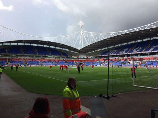 Macron Stadium, section: Block E Lower, row: E, seat: 16