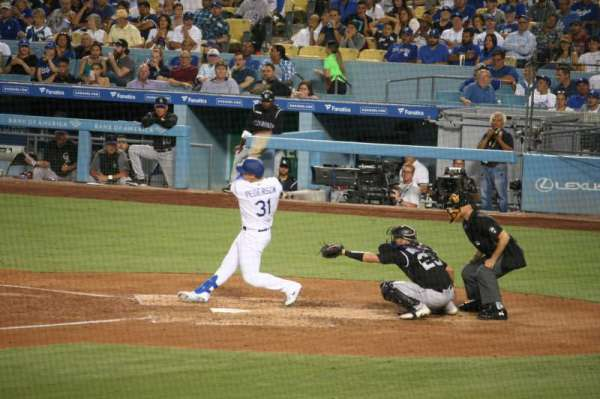 Dodger Stadium, section: 25FD, row: W, seat: 6