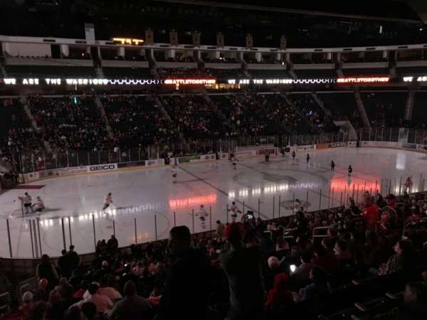 Infinite Energy Arena, section: 102, row: Z, seat: 1