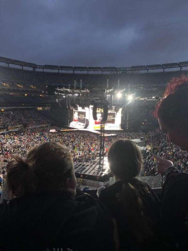 MetLife Stadium, section: 222, seat: 18