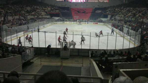 Cow Palace, section: 1, row: H, seat: 2