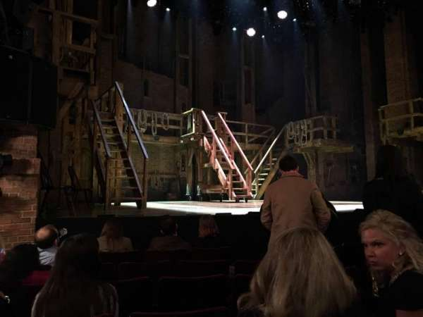 Richard Rodgers Theatre, section: Orchestra L, row: F, seat: 11