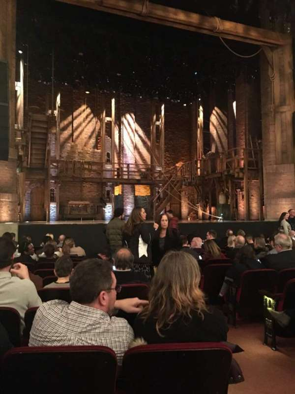 CIBC Theatre, section: Orch-L, row: N, seat: 3