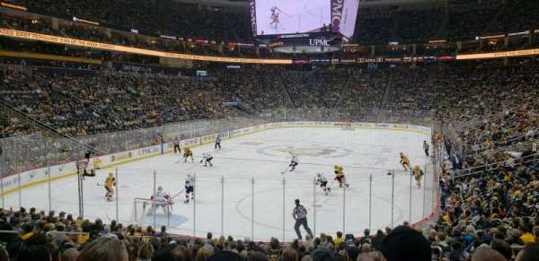 PPG Paints Arena, section: 106, row: S, seat: 7