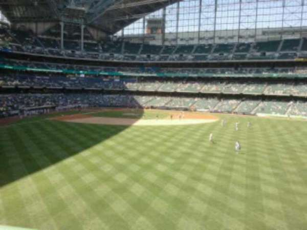 Miller Park, section: 201, row: 1, seat: 28