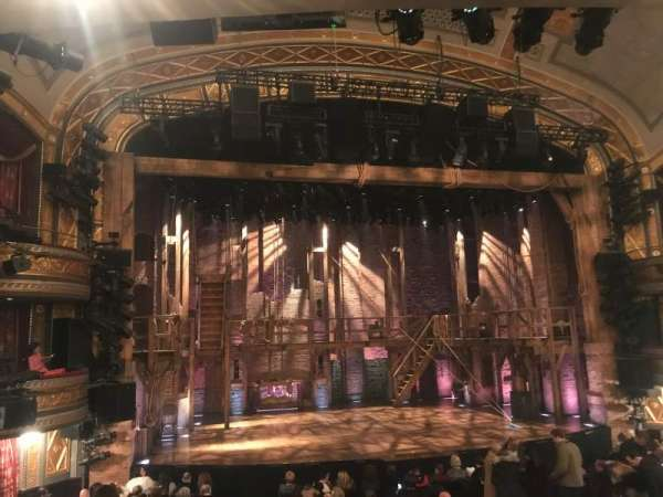 Richard Rodgers Theatre, section: Orchestra L, row: P, seat: 3