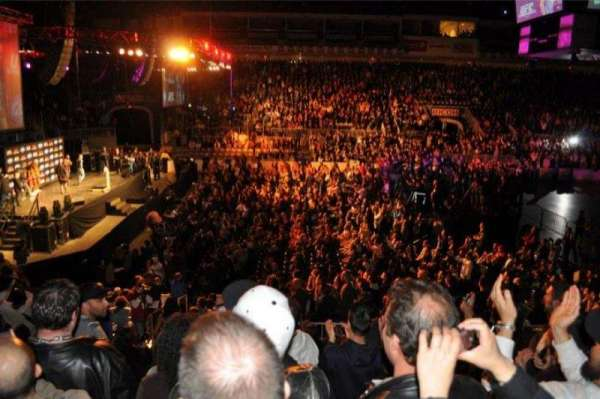 Coca-Cola Coliseum, section: 101, row: 15, seat: 5