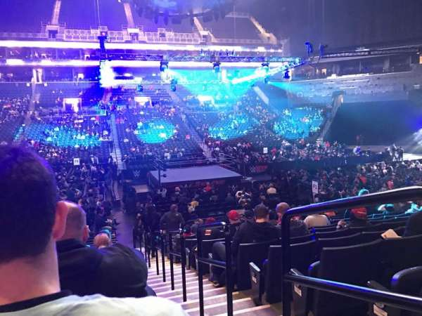 Barclays Center, section: 9, row: 15, seat: 1