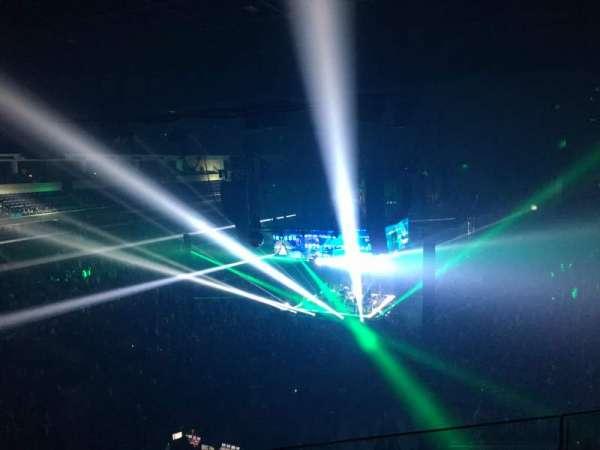 Infinite Energy Arena, section: 201, row: C, seat: 18