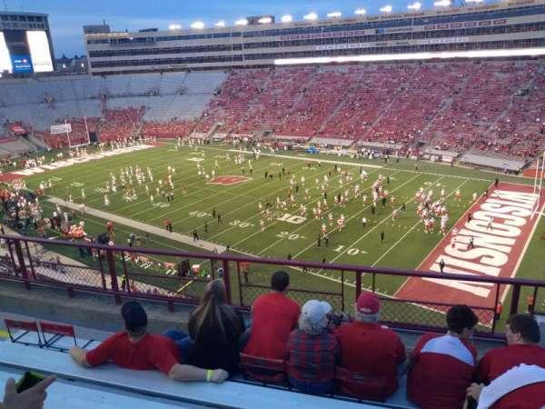 Camp Randall Stadium, section: BB, row: 6, seat: 22