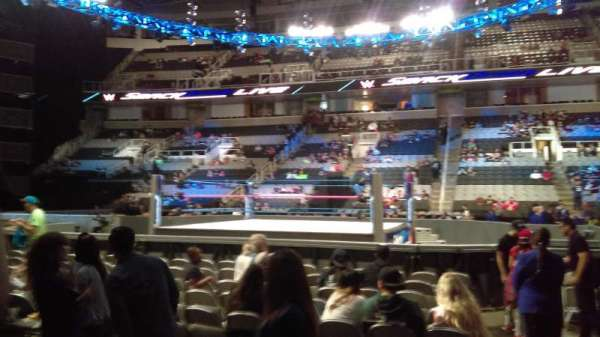 SAP Center at San Jose, section: 114, row: 3, seat: 23