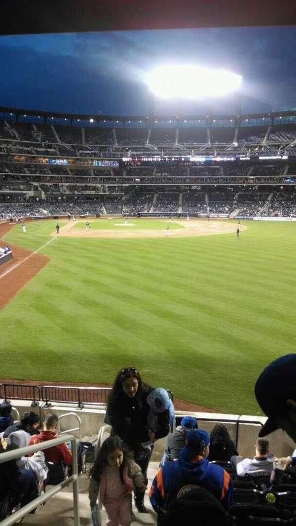 Citi Field, section: 102, row: 11, seat: 1