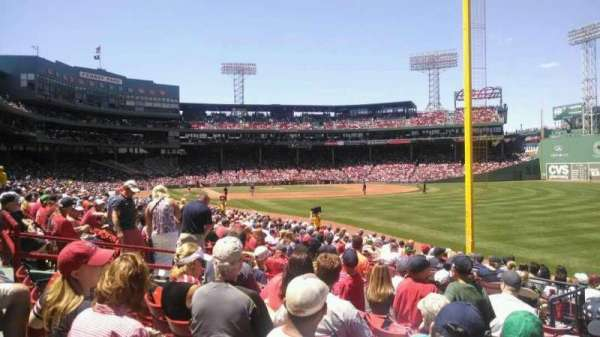 Fenway Park, section: Right Field Box 93, row: MM, seat: 10