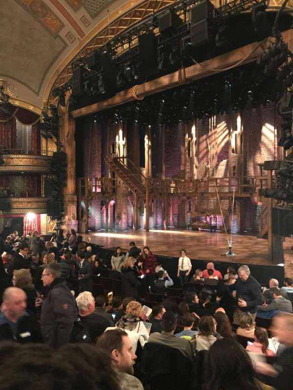 Richard Rodgers Theatre, section: Orchestra, row: N, seat: 28