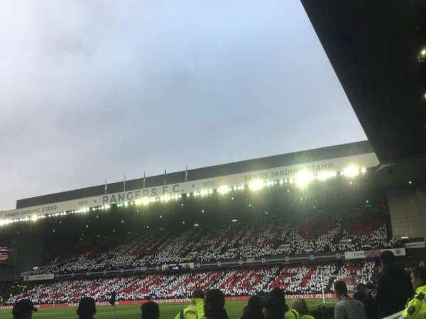 Ibrox Stadium, section: SE1, row: B, seat: 022