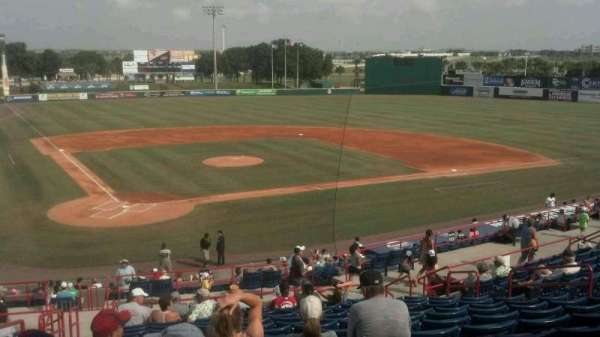 USSSA Space Coast Complex, section: 212, row: C, seat: 1