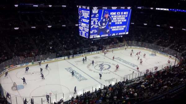 Amalie Arena Section 319 Home Of Tampa Bay Lightning