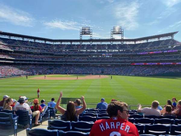 Citizens Bank Park, section: 103, row: 10, seat: 17