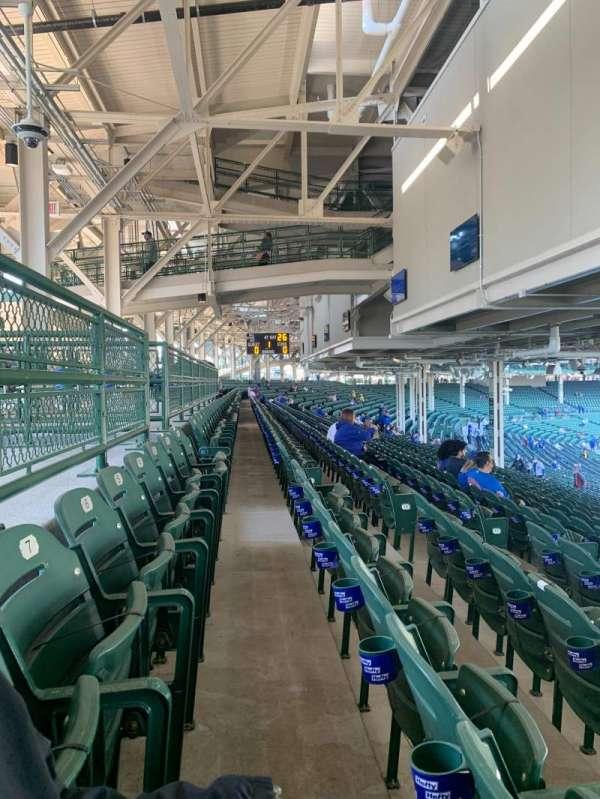 Wrigley Field, section: 228, row: 20, seat: 9
