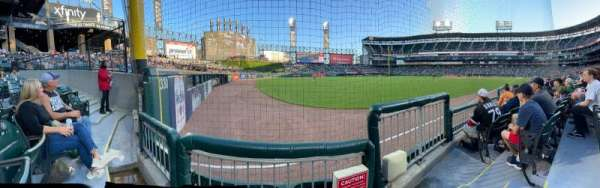 Guaranteed Rate Field, section: 154, row: 4, seat: 1