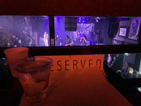 Whisky A Go Go, section: Reserved, row: Rail