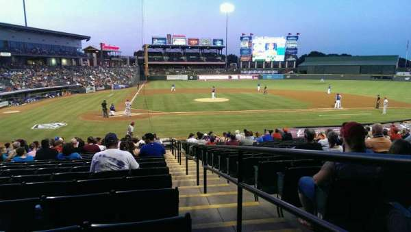 Dell Diamond, section: 121, row: 21, seat: 25