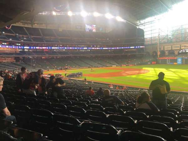 Minute Maid Park, section: 131, row: 36, seat: 20