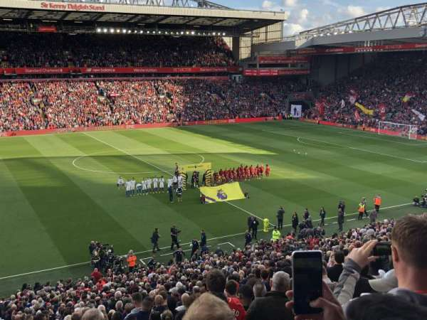 Anfield, section: L12, row: 41, seat: 90