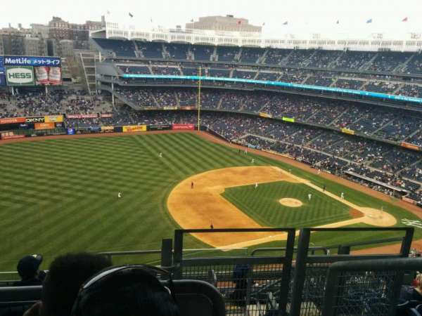Yankee Stadium, section: 428, row: 8, seat: 1
